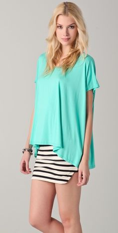 Love the color again! My favorite for spring!