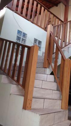 guarda das escadas em madeira - Pesquisa Google