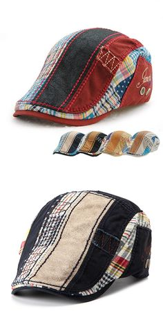 US$8.88 + Free shipping. Cotton washed beret cap, buckle adjustable paper boy newsboy cabbie golf gentleman cap, men's cotton beret cap, newsboy cap, cowboy cap, cabbie cap. Material: Cotton+Polyester. Color: Wine Red, Gray, Dark Blue, Beige, Black.