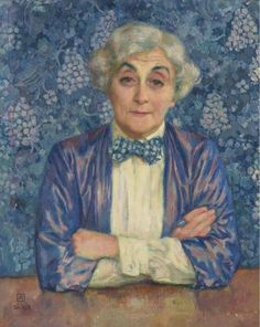 Theo van Rysselberghe, Portrait of Maria van Rysselberghe, 1918 on ArtStack #theo-van-rysselberghe #art