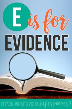 E is for evidence-a