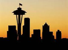 Seattle Skyline Silhouette - Bing Images