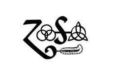 LED Zeppelin Symbols | http://www.ebay.com/itm/Led-Zeppelin-Runes-Zoso-symbol-rock-band-logo ...