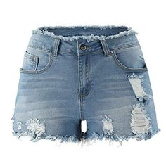 Vintage Street Fashion, Ripped Jean Shorts, Hot Pants, Jeans Style, Daily Wear, Women Lingerie, Denim Skirt, Thunder, How To Wear