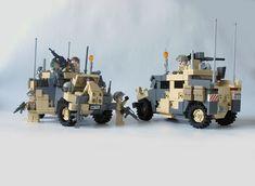 Sweet Lego military trucks!