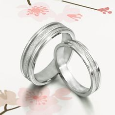 His and Her Promise Rings  Silver Wedding door MymomentJewelry