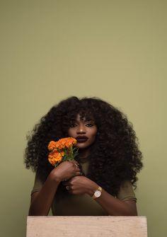 Imagem de flowers, woc, and melanin