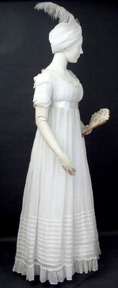 Scottish dress, c. 1799.