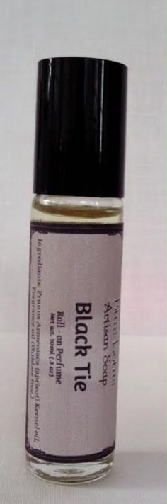 Black Tie Cologne  Roll-on Perfume Oil  by BlueLotusArtisanSoap