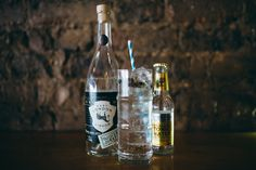 East London Liquor Co. Gin, with cardamon, juniper berries & Fever Tree Indian Tonic