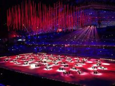 the closing ceremony of the XXII Olympic Winter Games in Sochi