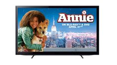 Enter for your chance to win a LED TV, Blu-ray player and a copy of Annie the film on Blu-ray