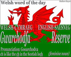 #Welsh word of the day: Gwarchodfa/ #Reserve