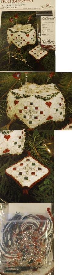 Cross Stitch Patterns 34032: Noel Biscornu Cross Stitch Bk And Access. Pack Victoria Sampler -> BUY IT NOW ONLY: $32.26 on eBay!