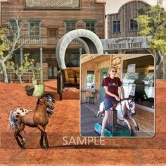 My Western Horse [01_099] - $3.24 : Snackpackgu Designs, Organizing your memories the easy way.