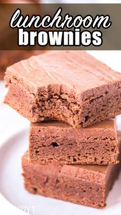 Lunch lady brownies are one of those classic moist, fudgy, and incredibly delicious desserts that works every time. The flavor that you know and love in a brownie.