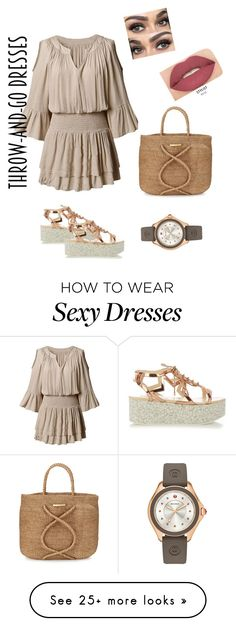 """""""Easy peasy"""" by momandaughter on Polyvore featuring STELLA McCARTNEY, Michele, ViX and Smashbox"""