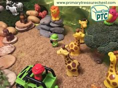 Animal Themed Tuff Tray for Toddlers-EYFS Children