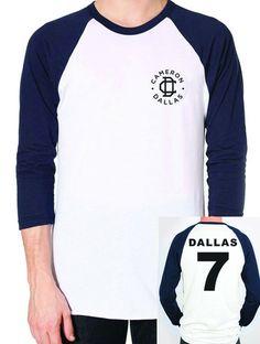 Cameron Dallas Baseball Tee