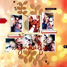 Girl Selfie - Scrapbook.com
