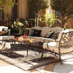 Frontgate Outdoor Living Furniture!