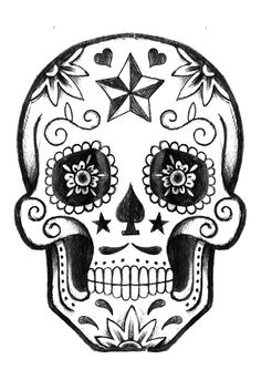Nothing as sweet as a #SugarSkull