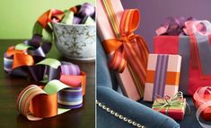 christmas decorating ideas ribbons gifts and colourful garlands