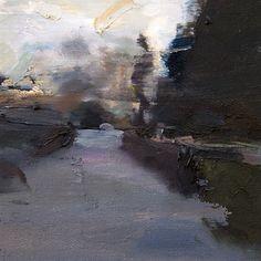"Artist: Carlos San Millan; Oil 2013 Painting ""Jardin Sauvage #1"""