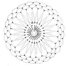 Best 12 U Kathryn : Szydełkowe bombki-wzory/Crochet baubles-patterns – SkillOfKing.Com - Her Crochet Crochet Stone, Crochet Doily Rug, Crochet Snowflake Pattern, Crochet Motif Patterns, Crochet Ball, Crochet Snowflakes, Crochet Diagram, Freeform Crochet, Crochet Chart