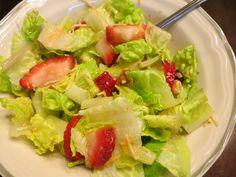Strawberry Lettuce Salad