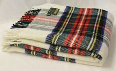 Tweedmill Jura Tartan Travel Rug Pure New Wool Dress Stewart A beautiful high quality throw ideal for the bottom of a bed a throw for a chair or sofa