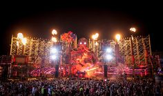 EDM Concert Stages | ... Those EDM Festivals For Pushing The Envelope With Their Stage Designs
