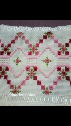 Bargello, Crochet Projects, Hand Embroidery, Cross Stitch Patterns, Merry, Lily, Sewing, My Love, Hand Embroidery Flowers