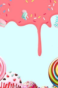Cake Shop Recruitment Poster Background Material Candy Background, Flower Background Wallpaper, Flower Backgrounds, Cake Shop Design, Simple Poster Design, Cake Wallpaper, Cake Illustration, Restaurant Flyer, Cake Logo