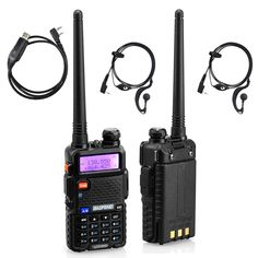 BaoFeng Dual-Band UHF/VHF Portable Ham Two Way Radio (Pack of with Programming Cable – Alvino – Your friendly gift store Electronics For You, Consumer Electronics, Two Way Radio, Tech Support, Ham Radio, Led Flashlight, Walkie Talkie, Programming