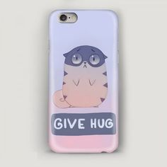 Funny Case iPhone 6 Plus Give Hug Case for iPhone by MascotCase