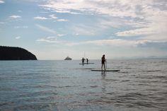 SUPing in Tribune Bay, Hornby Island Playground, Family Travel, Salt, Celestial, Island, Adventure, Sunset, Spring, Beach