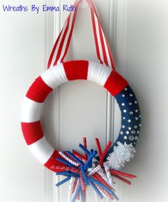 4th of July Fireworks Wreath