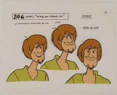 Image result for scooby doo production art