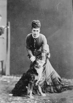Portrait photograph of the Princess of Wales (1844-1925), later Queen Alexandra, 1870s