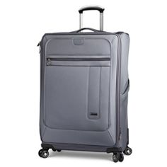 Large Quad Spinner, Dual four-wheel drive – This versatile case sports 8 gliding wheels that roll to ease over any surface with smooth comfort. Large Luggage, Four Wheel Drive, Quad, Suitcase, Mosaic, Wheels, Surface, Smooth, Big