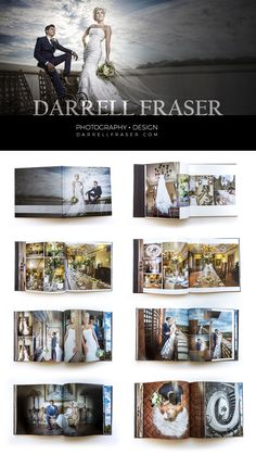 Darrell Fraser Photography and Design Services Based in Pretoria, Gauteng and George, Western Cape, South Africa. #wedding #album #graphicdesign #design #photography #darrellfraser