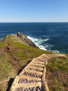 "Torbay Point on the East Coast Trail's ""The Cobbler Path"". Truly spectacular!"