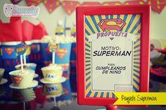 Paquete con diseños personalizados de Superman #Sweety #superman