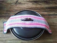 Rosaly crochet y más, Patrón libre, holandés, maceta en una sola pieza . Crochet Kitchen, Crochet Home, Love Crochet, Crochet Gifts, Diy Crochet, Crochet Potholders, Crochet Doilies, Diy Haken, Crochet Diagram