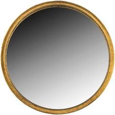 Round Gold Metal Wall Mirror | Hobby Lobby | 1130418