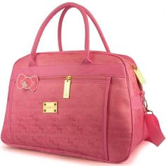 2cf4fa2561e2 New Hello Kitty Loungefly Pink Crossbody Bag Weekender Bag Purse Travel Bag
