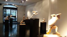 Exposición CARRERA, Tulio Romano. En Galería Rubbers Internacional.