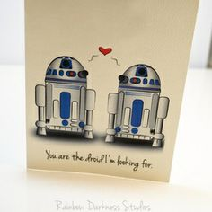 You Are the Droid I'm Looking For Card on the redditgifts Marketplace