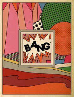 — beelzebunny: huxiaoxiao: (via unsavorytruffles,. Jasper Johns, Roy Lichtenstein, Andy Warhol, Dali, Richard Hamilton, Pop Art Illustration, Illustrations, Retro Pop, Pop Surrealism